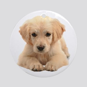 Golden Retriever Ornament (Round)
