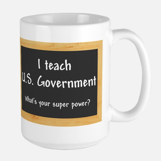 I teach US Government Mug