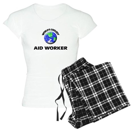World's Coolest Aid Worker Pajamas