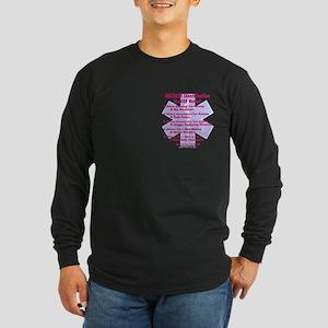 Hazmat ID - Cop Method Long Sleeve Dark T-Shirt