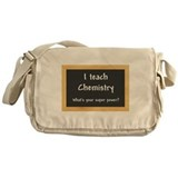 Chemistry Canvas Messenger Bags