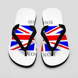 London England Flip Flops