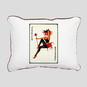 Joker Rectangular Canvas Pillow