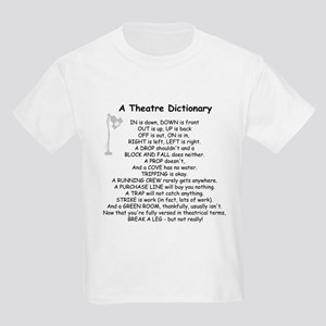 Theatre Dictionary Kids T-Shirt
