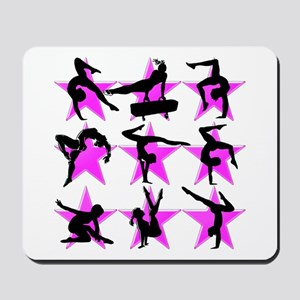 PINK ALL STAR GYMNAST Mousepad