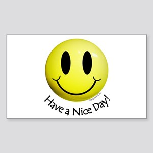 Nice Day Smiley Sticker