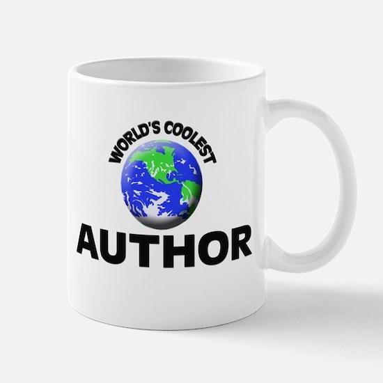 World's Coolest Author Mug