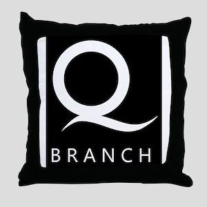 Q Branch Throw Pillow