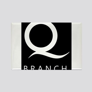 Q Branch Rectangle Magnet