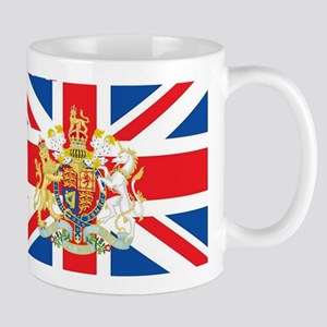 British Flag with Royal Crest Mug