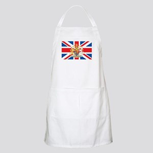 British Flag with Royal Crest Apron