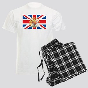 British Flag with Royal Crest Pajamas