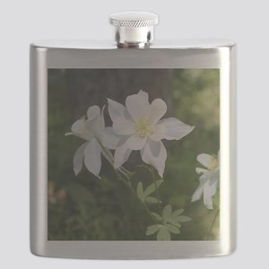 White Columbine Flask