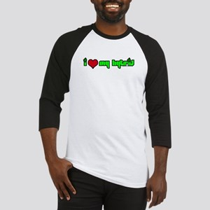 """I HEART MY HYBRID"" Products Baseball Jersey"