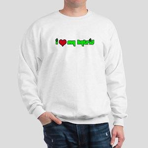 """I HEART MY HYBRID"" Products Sweatshirt"