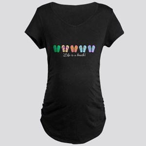 Personalize It, Flip Flop Maternity T-Shirt
