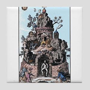 Christian Rosencruetz Tile Coaster