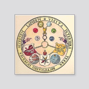 Rosicrucian Rose Sticker