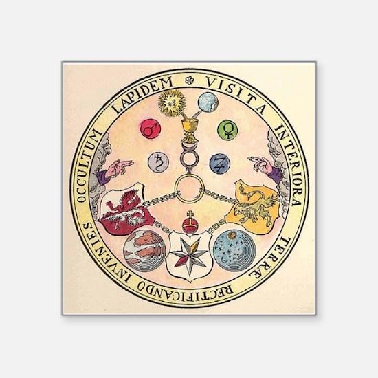 Rosicrucian Rose Sticker