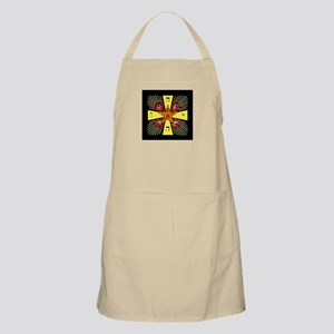 Rosy Cross Apron