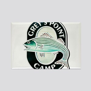 Greys Point Camp Rectangle Magnet