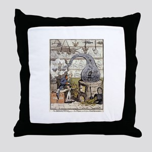 The Dissolution Throw Pillow