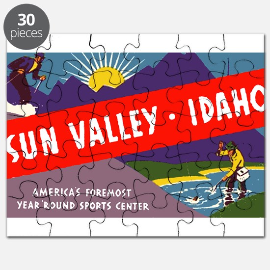 Sun Valley Idaho Puzzle
