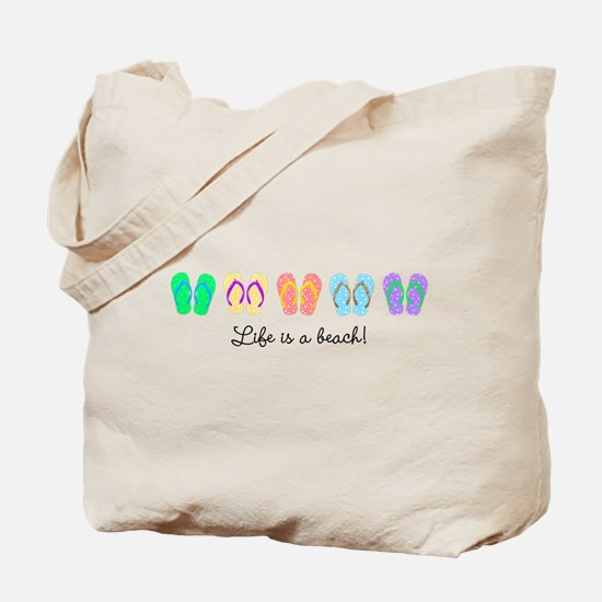 Personalize It, Flip Flop Tote Bag