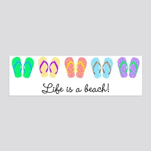 Personalize It, Flip Flop Wall Decal