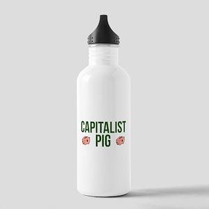 Capitalist Pig Water Bottle