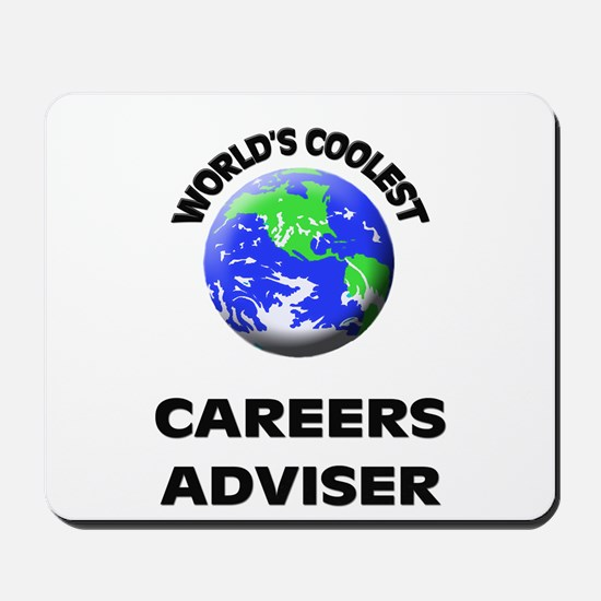 World's Coolest Careers Adviser Mousepad