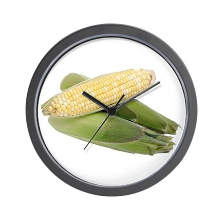 Some Corn On Your Wall Clock