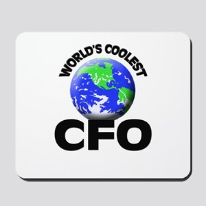 World's Coolest Cfo Mousepad