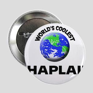 """World's Coolest Chaplain 2.25"""" Button"""