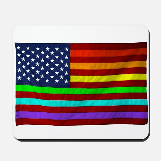 (LGBT) Gay Rainbow Pride Flag - Mousepad