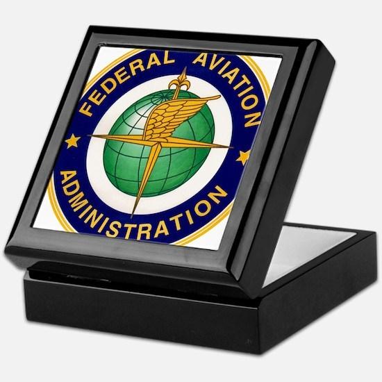 FAA logo Keepsake Box