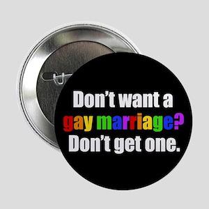 "Gay Marriage 2.25"" Button"