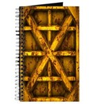 Rusty Shipping Container - yellow Journal