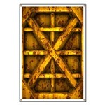 Rusty Shipping Container - yellow Banner