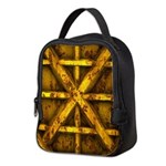 Rusty Shipping Container - yellow Neoprene Lunch B