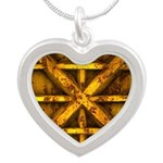 Rusty Shipping Container - yellow Necklaces