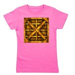 Rusty Shipping Container - yellow Girl's Tee