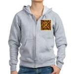 Rusty Shipping Container - yellow Zip Hoodie