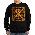 Rusty Shipping Container - yellow Sweatshirt