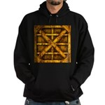 Rusty Shipping Container - yellow Hoodie