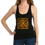 Rusty Shipping Container - yellow Racerback Tank T
