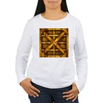 Rusty Shipping Container - yellow Long Sleeve T-Sh