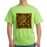 Rusty Shipping Container - yellow T-Shirt