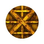Rusty Shipping Container - yellow 3.5