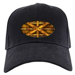 Rusty Shipping Container - yellow Baseball Hat